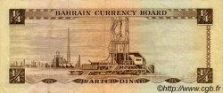 1/4 Dinar BAHREIN  1964 P.02a TTB+