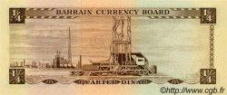 1/4 Dinar BAHREIN  1964 P.02a NEUF