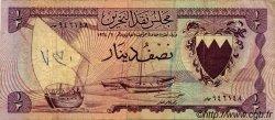 1/2 Dinar BAHREIN  1964 P.03a TB