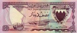 1/2 Dinar BAHREIN  1964 P.03a NEUF