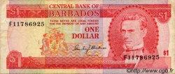 1 Dollar BARBADE  1973 P.29a TTB