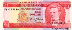 1 Dollar BARBADE  1973 P.29a NEUF