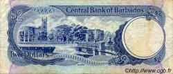 2 Dollars BARBADE  1980 P.30 TB+