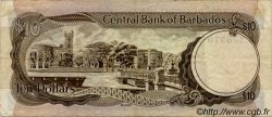 10 Dollars BARBADE  1973 P.33a TTB