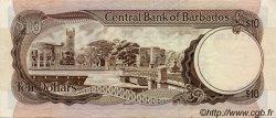 10 Dollars BARBADE  1986 P.38v. TTB+