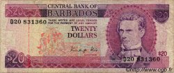 20 Dollars BARBADE  1988 P.39 pr.TB