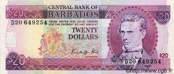 20 Dollars BARBADE  1988 P.39 SUP+