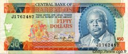 50 Dollars BARBADE  1989 P.40 TTB+