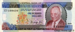 100 Dollars BARBADE  1986 P.41 SUP+