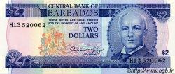 2 Dollars BARBADE  1993 P.42 NEUF