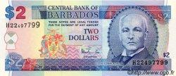 2 Dollars BARBADE  1998 P.54 NEUF