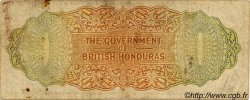 10 Dollars HONDURAS BRITANNIQUE  1951 P.27c pr.TB