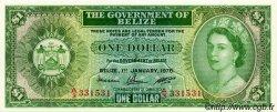 1 Dollar BELIZE  1976 P.33c NEUF