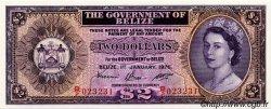 2 Dollars BELIZE  1976 P.34c pr.NEUF