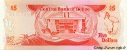 5 Dollars BELIZE  1989 P.47b pr.NEUF