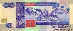 2 Dollars BELIZE  1990 P.52a pr.NEUF