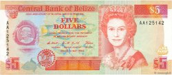 5 Dollars BELIZE  1990 P.53a NEUF