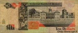 10 Dollars BELIZE  1991 P.54b B+