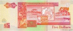 5 Dollars BELIZE  1996 P.58 NEUF
