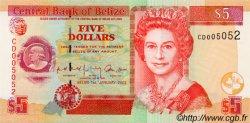 5 Dollars BELIZE  2002 P.61b NEUF