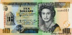 10 Dollars BELIZE  2002 P.62b NEUF