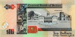 10 Dollars BELIZE  2002 P.62b