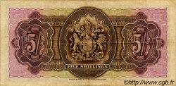 5 Shillings BERMUDES  1937 P.08b TB à TTB