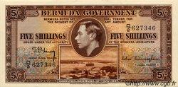 5 Shillings BERMUDES  1937 P.08b SUP