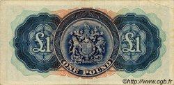 1 Pound BERMUDES  1937 P.11b TTB+