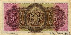 5 Shillings BERMUDES  1947 P.14 TB+