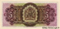 5 Shillings BERMUDES  1957 P.18b NEUF