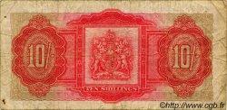 10 Shillings BERMUDES  1952 P.19a pr.TB