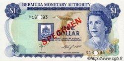 1 Dollar BERMUDES  1984 P.28s NEUF