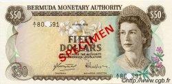 50 Dollars BERMUDES  1978 P.32s NEUF