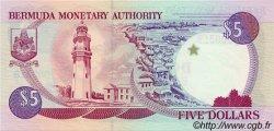5 Dollars BERMUDES  1997 P.41d NEUF