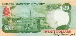 20 Dollars BERMUDES  1999 P.43b NEUF
