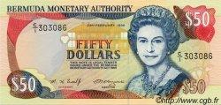 50 Dollars BERMUDES  1996 P.44c NEUF