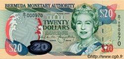20 Dollars BERMUDES  2000 P.53a NEUF