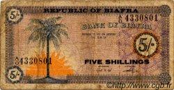5 Shillings BIAFRA  1967 P.01 B