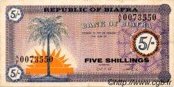5 Shillings BIAFRA  1967 P.01 TTB+