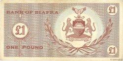 1 Pound BIAFRA  1967 P.02 TTB
