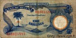5 Shillings BIAFRA  1968 P.03a TB