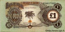 1 Pound BIAFRA  1968 P.05a TB+
