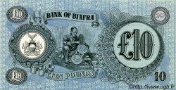 10 Pounds BIAFRA  1968 P.07b pr.NEUF