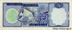 1 Dollar ÎLES CAIMANS  1972 P.01a TTB+