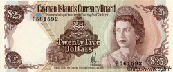 25 Dollars ÎLES CAIMANS  1981 P.08a pr.NEUF