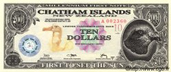10 Dollars ILES CHATHAM  2001 P.-- NEUF