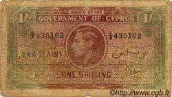 1 Shilling CHYPRE  1940 P.20 B