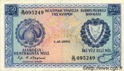 250 Mils CHYPRE  1980 P.41c pr.SUP
