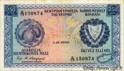 250 Mils CHYPRE  1980 P.41c TTB